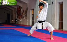 """Cùng """"hot boy"""" Thái Huy rèn sức khỏe qua các bài tập Karatedo (P.1)"""