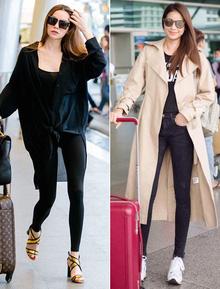 Hà Hồ & Phạm Hương cùng khoe dáng vạn người mê tại sân bay, ai đẹp hơn?