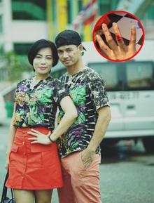 """Đăng status """"bị chồng đánh"""" rồi xoá ngay sau đó, vợ Xuân Bắc giải thích là do bị hack Facebook"""