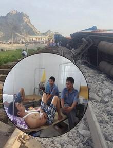 """Tiếp viên kể lại giây phút kinh hoàng khi tàu gặp nạn: """"Nếu không có vũng nước thì toa xe đã cắt tôi làm đôi, giờ này cũng chết rồi"""""""