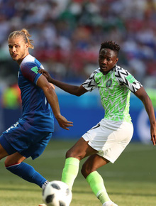 TRỰC TIẾP (H2) Nigeria 2-0 Iceland: Musa lập cú đúp