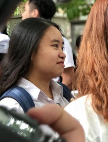 Thí sinh hoàn thành xong môn Toán trong THPT quốc gia: Người nhận xét khó, người nói phân loại được học sinh
