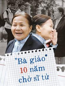 """Có một cô giáo 67 tuổi """"mặc vest mang dép lê"""", 10 năm đứng chờ sĩ tử Sài Gòn: Không lập gia đình, cưng học sinh như con"""