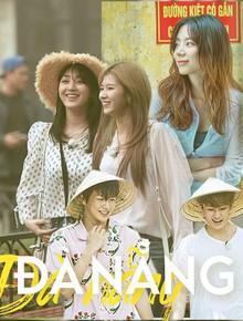 Đà Nẵng nổi lên như một địa điểm vàng, hàng loạt sao Hàn kéo nhau đến du lịch, chụp tạp chí ngày một đông