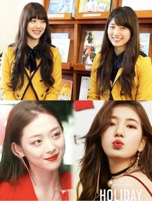 Bàn cân showbiz: Cặp visual sinh năm 1994 huyền thoại Suzy và Sulli đẹp đỉnh cao, nhưng ai dậy thì thành công hơn?