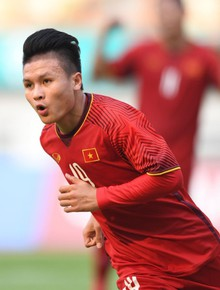 TRỰC TIẾP Olympic Việt Nam 1-0 Olympic Nhật Bản: Văn Quyết dứt điểm chệch cột dọc