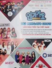 Rò rỉ ảnh kế hoạch của Inkigayo lần đầu tại Việt Nam: Black Pink, EXO tham gia, show diễn ra vào tháng 10?