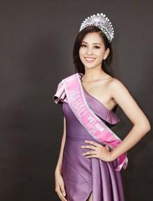 """Hiệu trưởng trường cấp 3 của Hoa hậu Tiểu Vy: """"Em phù hợp với tiêu chuẩn của một cuộc thi về nhan sắc"""""""