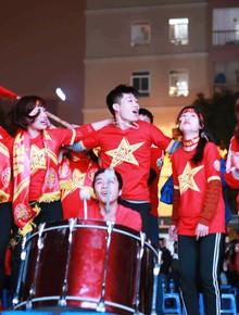 Hàng ngàn CĐV trên SVĐ Dubai, hàng triệu trái tim tại quê nhà cùng hướng về ĐT Việt Nam trước trận tứ kết Asian Cup 2019 với Nhật Bản