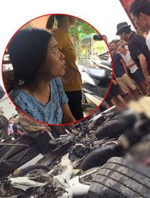 """Giây phút kinh hoàng khi xe tải lật đè nhóm người đứng gần hiện trường tai nạn: """"Các nạn nhân chỉ kịp hét lên vài tiếng..., hãi hùng lắm"""""""