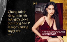 """Phỏng vấn độc quyền """"nàng thơ"""" Mai Davika: Khen """"Sơn Tùng M-TP là một nghệ sĩ rất tài năng"""", lần đầu kể chuyện quay MV"""