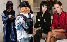 """""""Bay show"""" tới tấp tại London Fashion Week, Jolie Nguyễn vẫn giữ được phong độ thời trang trên hàng ghế đầu"""