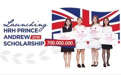 Khởi động chương trình học bổng Hoàng tử Andrew 2018 trị giá lên tới 700 triệu đồng