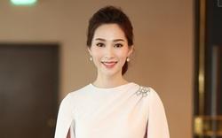 Cận kề ngày cưới, hoa hậu Đặng Thu Thảo vẫn tất bật dự sự kiện với nhan sắc rạng rỡ