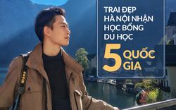 Cậu bạn Hà Nội đẹp trai, giành học bổng du học 5 nước, là thủ khoa đầu vào và tốt nghiệp ĐH với số điểm cao nhất