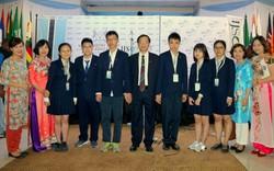 Đội tuyển Việt Nam phá kỷ lục, giành 4 Huy chương Vàng trong kỳ thi Khoa học trẻ Quốc tế 2018