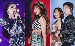 Fan Việt vỡ òa với loạt sân khấu hoành tráng của EXID cùng dàn sao Vpop khủng
