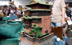 Ấn tượng với mô hình nhà tắm trong Spirited Away do 1 fan hâm mộ tạo ra