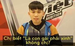 """Vòng loại """"Giọng hát Việt"""" xuất hiện anh chàng đòi hát từ Quan họ đến EDM, không nghe cả lời giám khảo"""