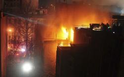 Cảnh sát cứu hoả thiệt mạng ở vụ cháy phim trường tại New York