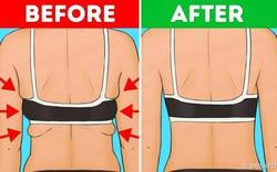 Mỡ lưng và nách cũng làm dáng xấu đi rất nhiều và đây là cách để loại bỏ