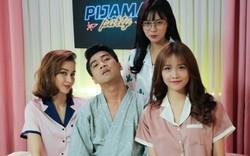 Pijama Party: Pew Pew diện đồ ngủ mắc cỡ khi trò chuyện đêm muộn với toàn hot girl!