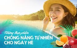 Muốn chống nắng tự nhiên cho ngày hè hãy thử những thực phẩm tự nhiên này