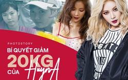Bí quyết giảm 20kg để sở hữu thân hình sexy như HyunA