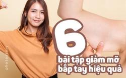 Muốn sở hữu bắp tay thon gọn đừng bỏ qua 6 bài tập hiệu quả này