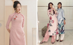 3 kiểu áo dài xinh xắn dự đoán sẽ được con gái Việt diện nhiều nhất Tết này