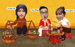 """An Japan cùng vlogger Tun Phạm và Mù Tạt chuẩn bị """"phá đảo"""" Lễ hội ẩm thực đường phố Coca-Cola Hà Nội"""