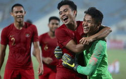Hy hữu: Tiền đạo U23 Indonesia làm thủ môn, trở thành người hùng bất đắc dĩ