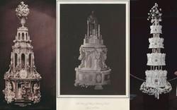 Xa hoa bánh cưới hoàng gia Anh qua từng thời kì, có chiếc lấy cảm hứng từ nhà thờ Notre-Dame