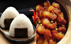 Không ngờ món thịt heo kho tiêu Việt Nam cũng được đưa vào làm nhân cơm nắm onigiri thế này