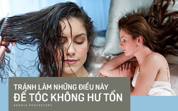 Tránh xa 5 sai lầm khi đi ngủ để tránh tóc thành rễ tre, gãy rụng nhiều