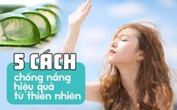 Không chỉ bôi kem chống nắng, hãy áp dụng thêm 5 phương pháp hiệu quả từ thiên nhiên này trong những ngày nắng chói chang