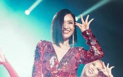 """Bích Phương sexy """"đốt mắt"""", lần đầu live """"Đi đu đưa đi"""" trên sân khấu Indonesia cùng MAMAMOO, Monsta X"""