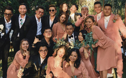 Hội bạn thân quyền lực showbiz tụ về đám cưới Tóc Tiên - Touliver: Tiệc này khách mời được toả sáng 100%, cô dâu chú rể nhường hết