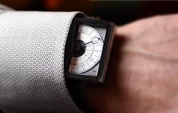 """Ngắm chiếc đồng hồ hiện giờ chỉ bằng """"nửa con mắt"""" cực sành điệu"""