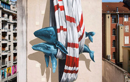 Ngắm nhìn 17 bức tranh tường 3D chân thực khắp nơi trên thế giới
