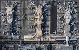 Ngắm vẻ đẹp ấn tượng của những chiếc máy bay khổng lồ được chụp từ trên cao