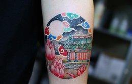 Bộ sưu tập hình xăm mang đậm màu sắc hoài cổ xứ kim chi