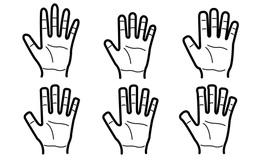 Chọn 1 trong 6 dáng bàn tay, dự đoán đường công danh, sự nghiệp