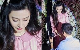 HOT: Phạm Băng Băng rơi nước mắt khi được Lý Thần cầu hôn trong ngày sinh nhật tuổi 36