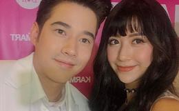 """Khoe ảnh chụp cùng Mario Maurer, Quỳnh Anh Shyn khiến fan """"đứng hình"""" vì khuôn mặt như tượng sáp!"""