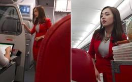 Nữ tiếp viên hàng không Malaysia gây sốt trên MXH chỉ sau tấm ảnh chụp trộm của hành khách