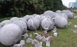 """""""Thầy phong thủy"""" tiết lộ lý do phải di dời bằng được 40 quả cầu đá khỏi sân Mỹ Đình"""