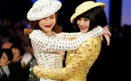 """Bất ngờ chưa: Sau 5 năm, Hà Hồ và Thanh Hằng lại nắm tay nhau """"phá đảo"""" show Công Trí"""