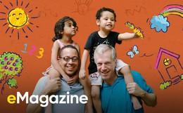Nhà mình có Dada và Papa: Tổ ấm đặc biệt của 2 ông bố đồng tính giữa Sài Gòn!