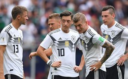 SỐC! Đương kim vô địch Đức thất bại ngày ra quân ở World Cup 2018